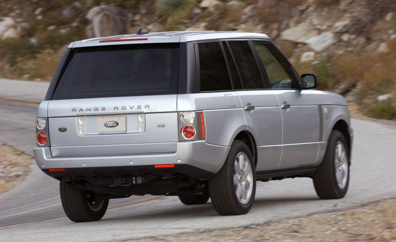 2008 Land Rover Range Rover Information And Photos
