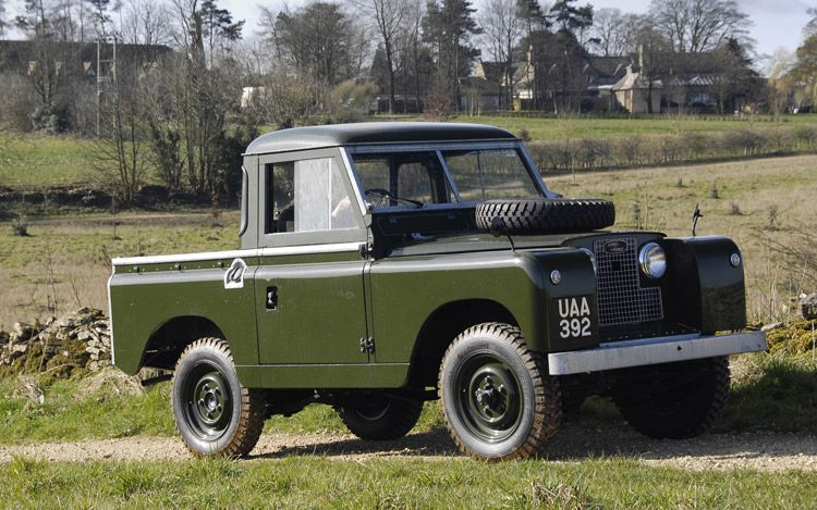 Land Rover Series II #1
