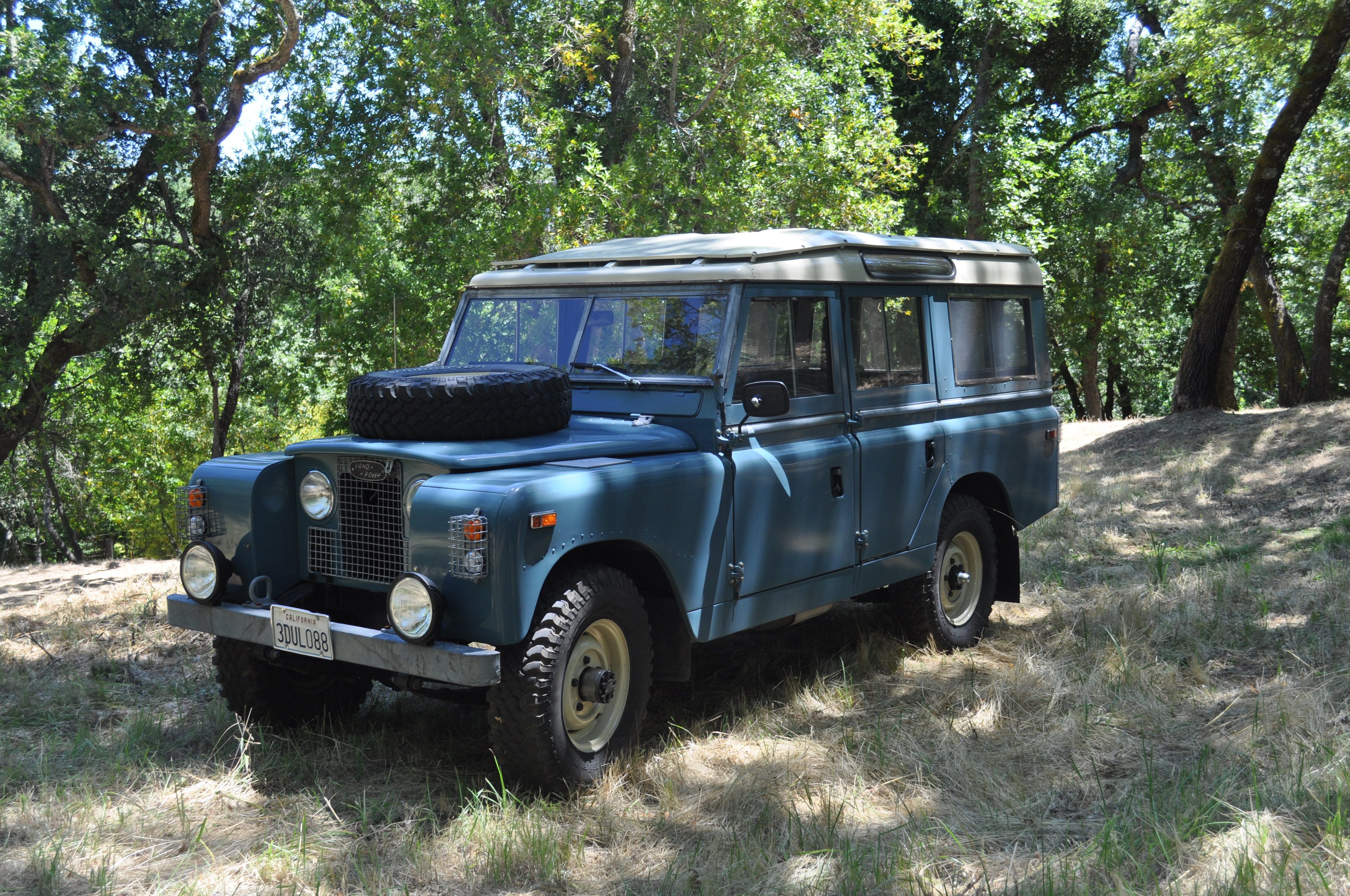 1958 land rover series ii information and photos momentcar. Black Bedroom Furniture Sets. Home Design Ideas