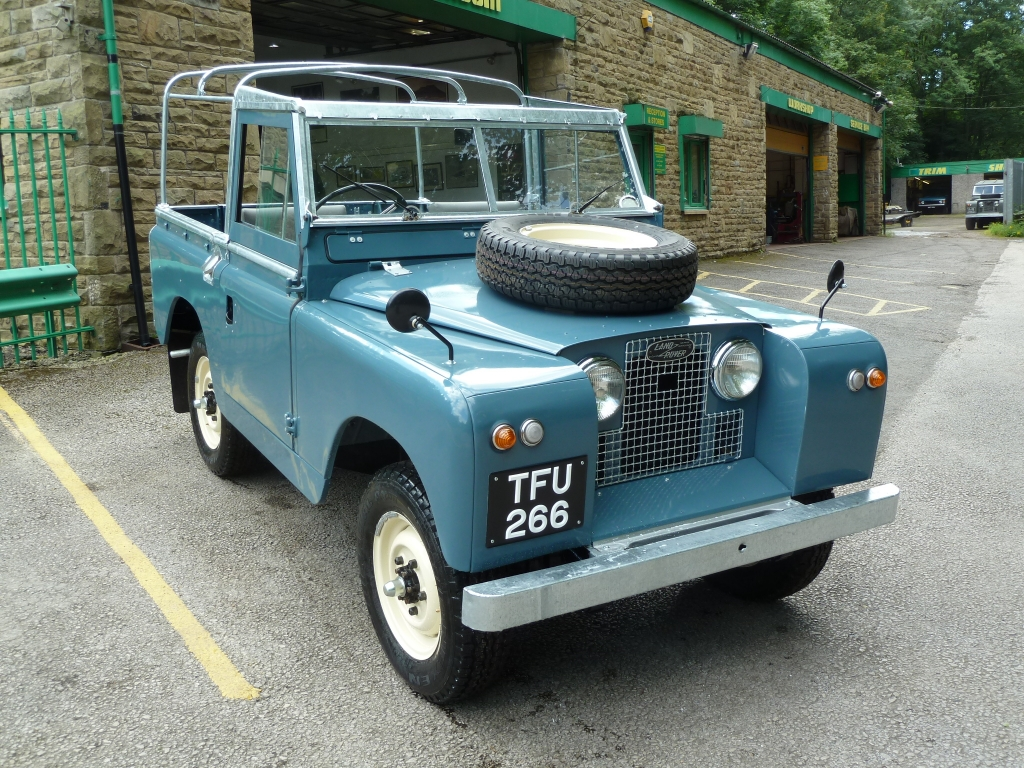 1959 land rover series ii information and photos momentcar. Black Bedroom Furniture Sets. Home Design Ideas
