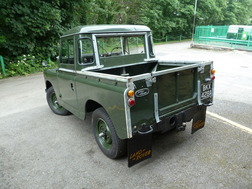 1961 land rover series ii information and photos momentcar. Black Bedroom Furniture Sets. Home Design Ideas