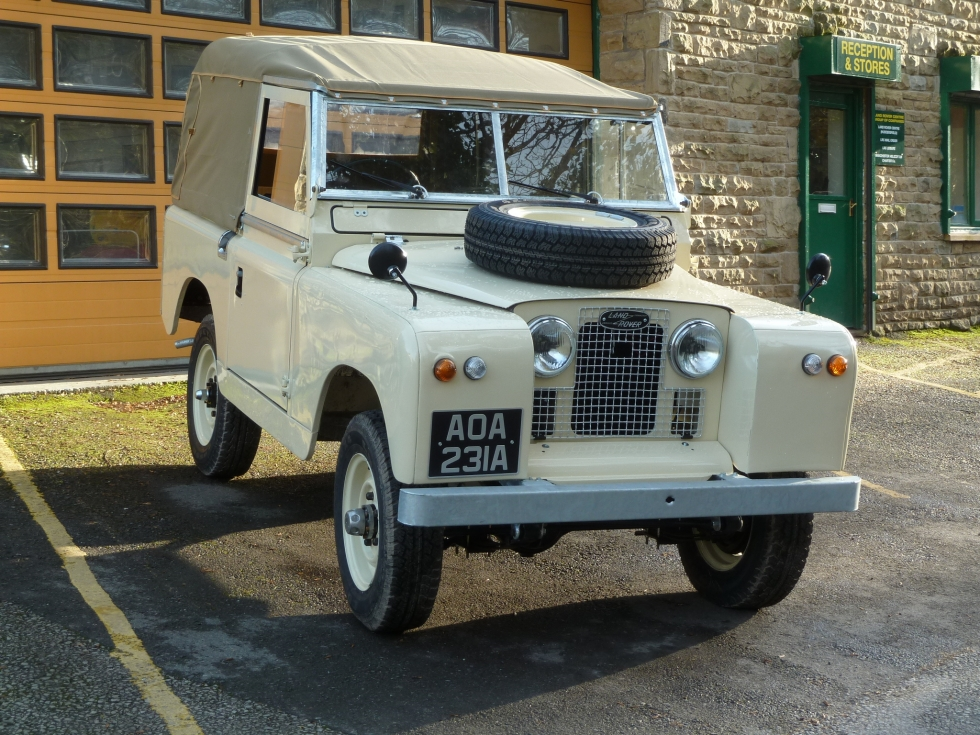 1962 land rover series ii information and photos momentcar. Black Bedroom Furniture Sets. Home Design Ideas