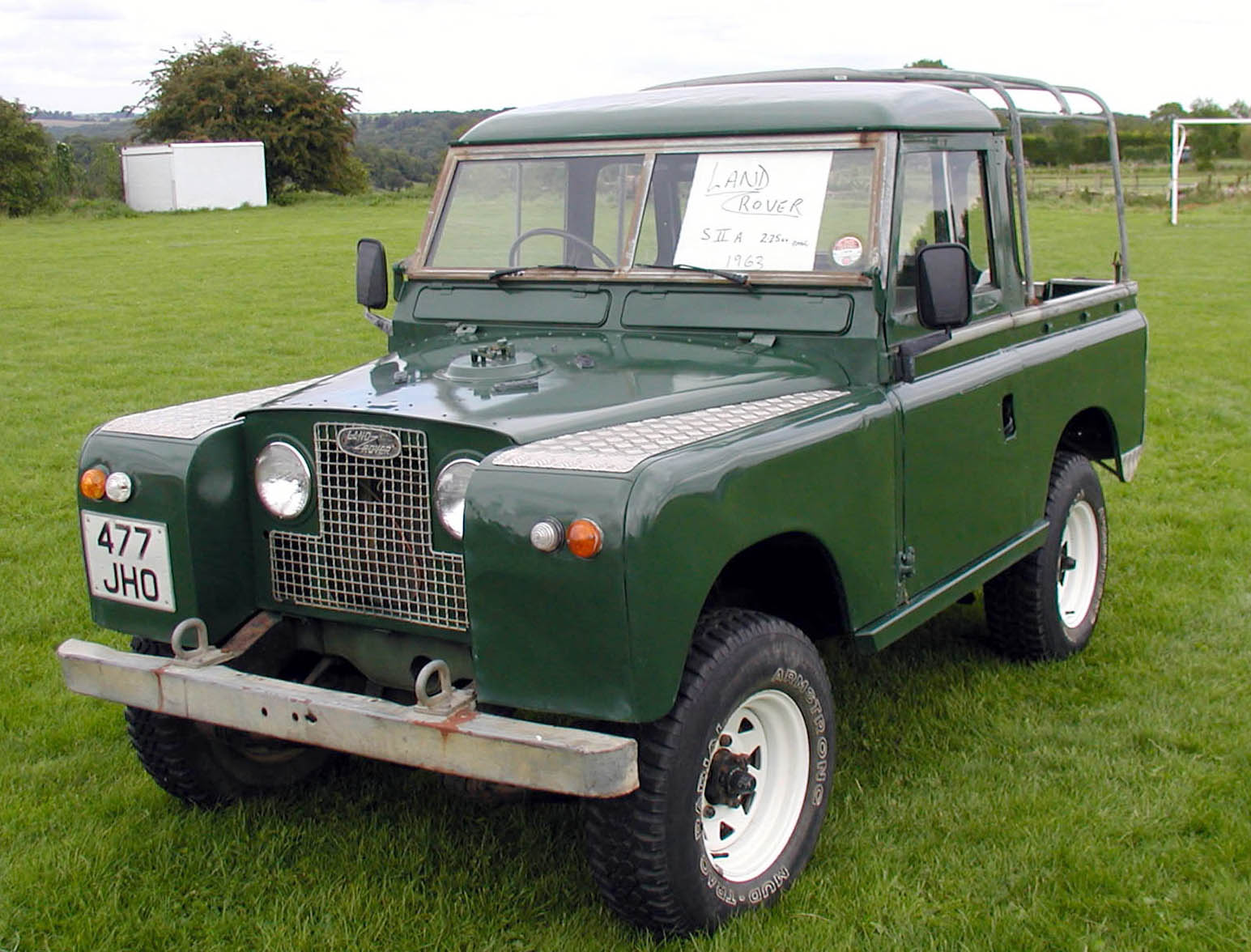 1963 land rover series ii information and photos momentcar. Black Bedroom Furniture Sets. Home Design Ideas
