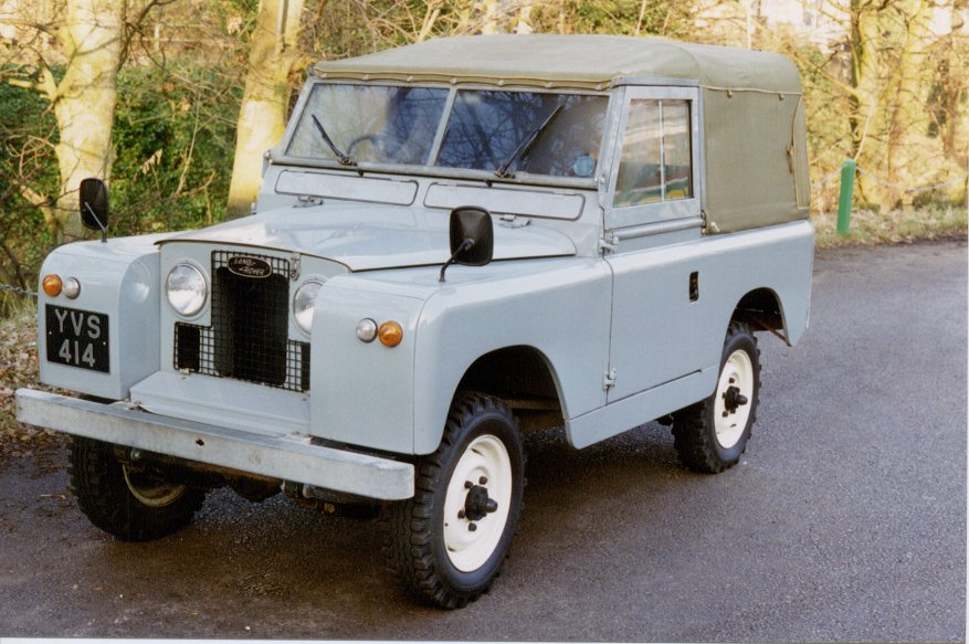 Land Rover Series II 1963 #2