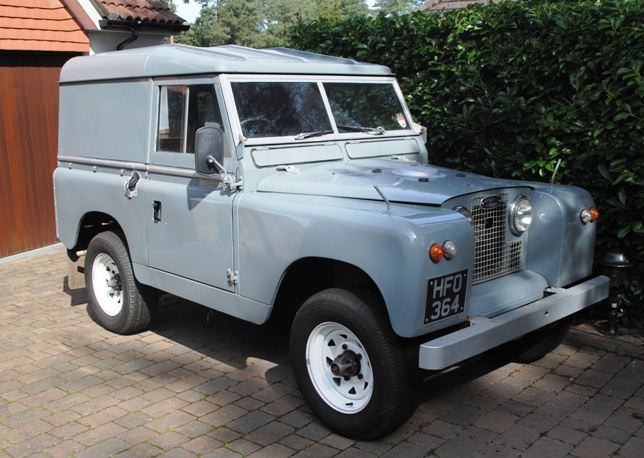 Land Rover Series II 1963 #9