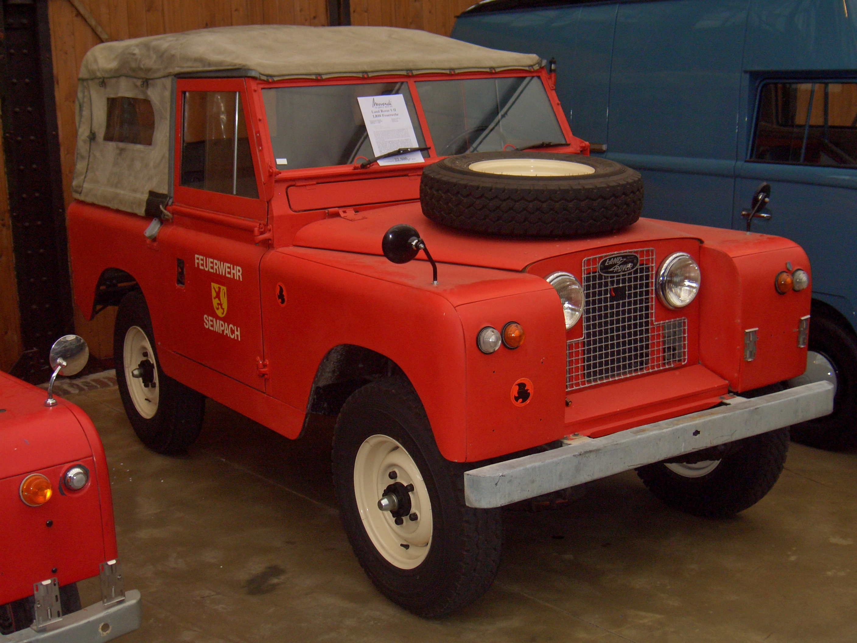 Land Rover Series II 1964 #10