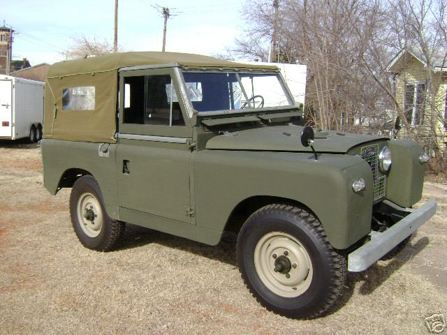 Land Rover Series II 1967 #6