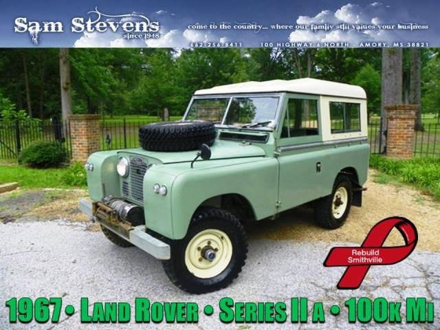 Land Rover Series II 1967 #8