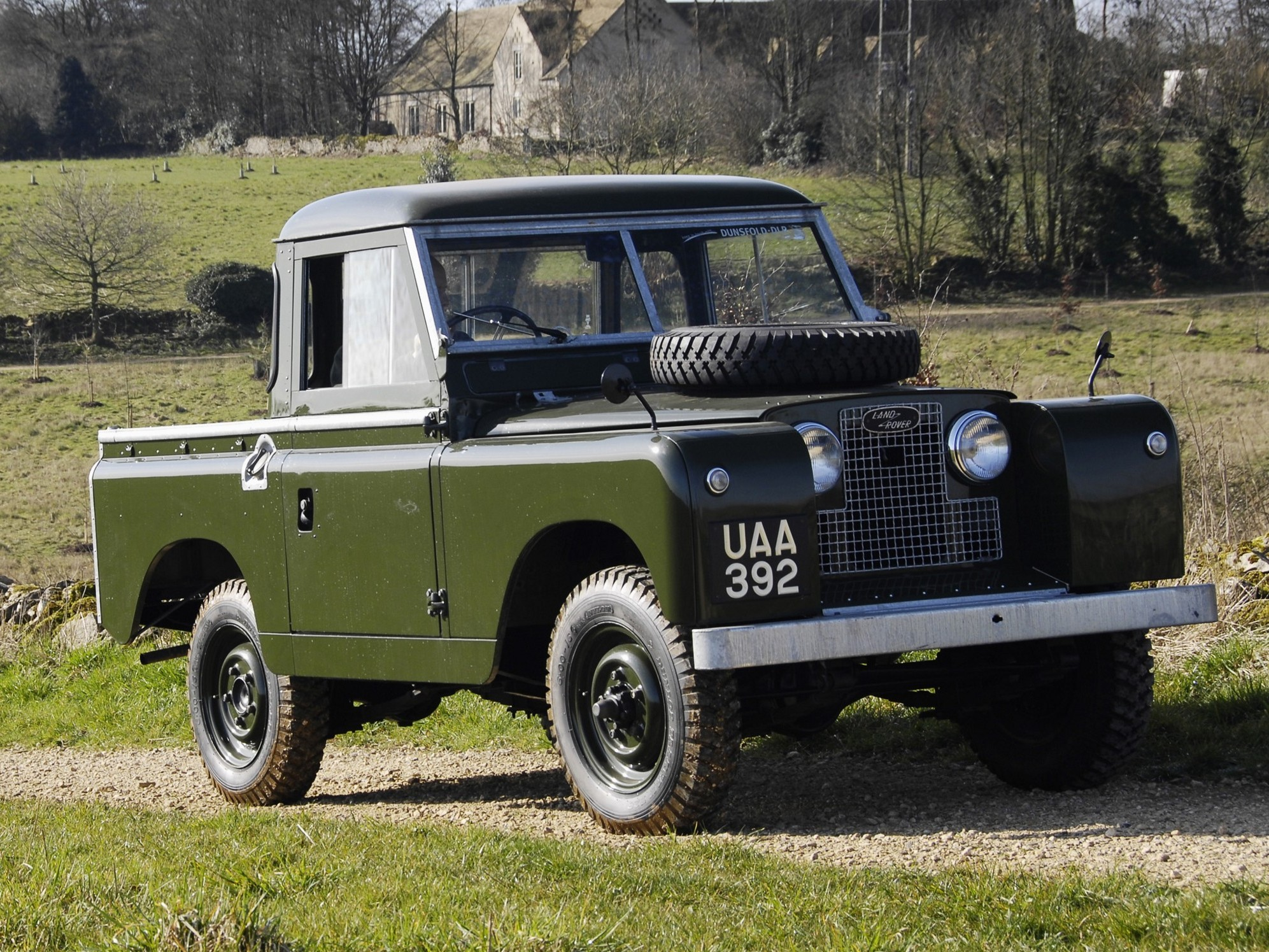 1969 land rover series ii information and photos momentcar. Black Bedroom Furniture Sets. Home Design Ideas