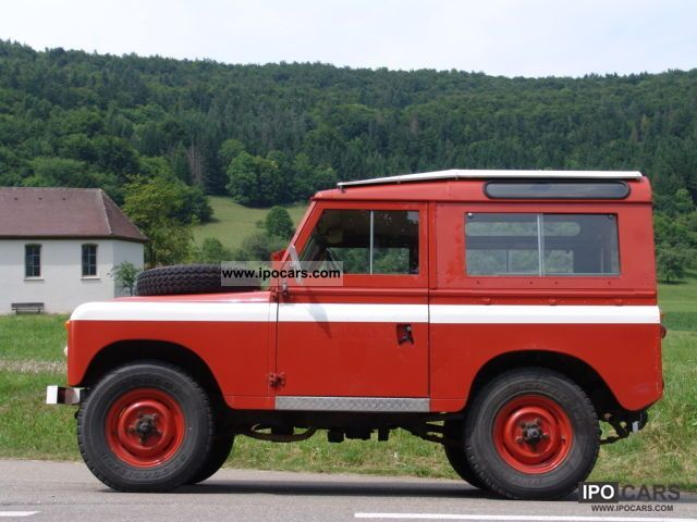 Land Rover Series II 1970 #2