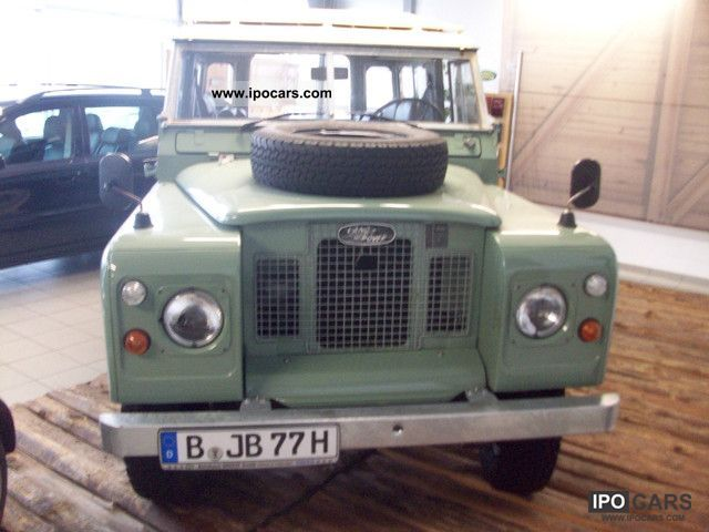 Land Rover Series II 1970 #6
