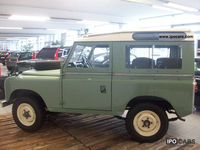 Land Rover Series II 1970 #8