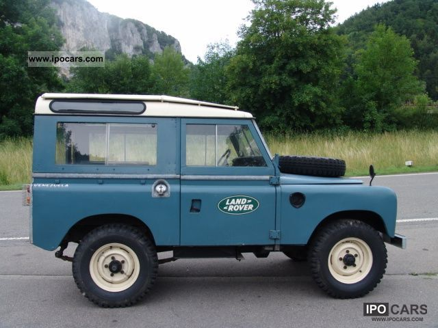 Land Rover Series III 1972 #6