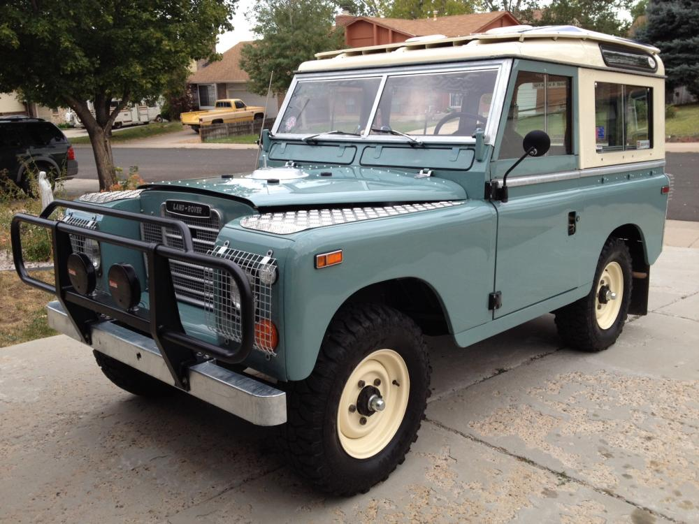 Land Rover Series III 1972 #11