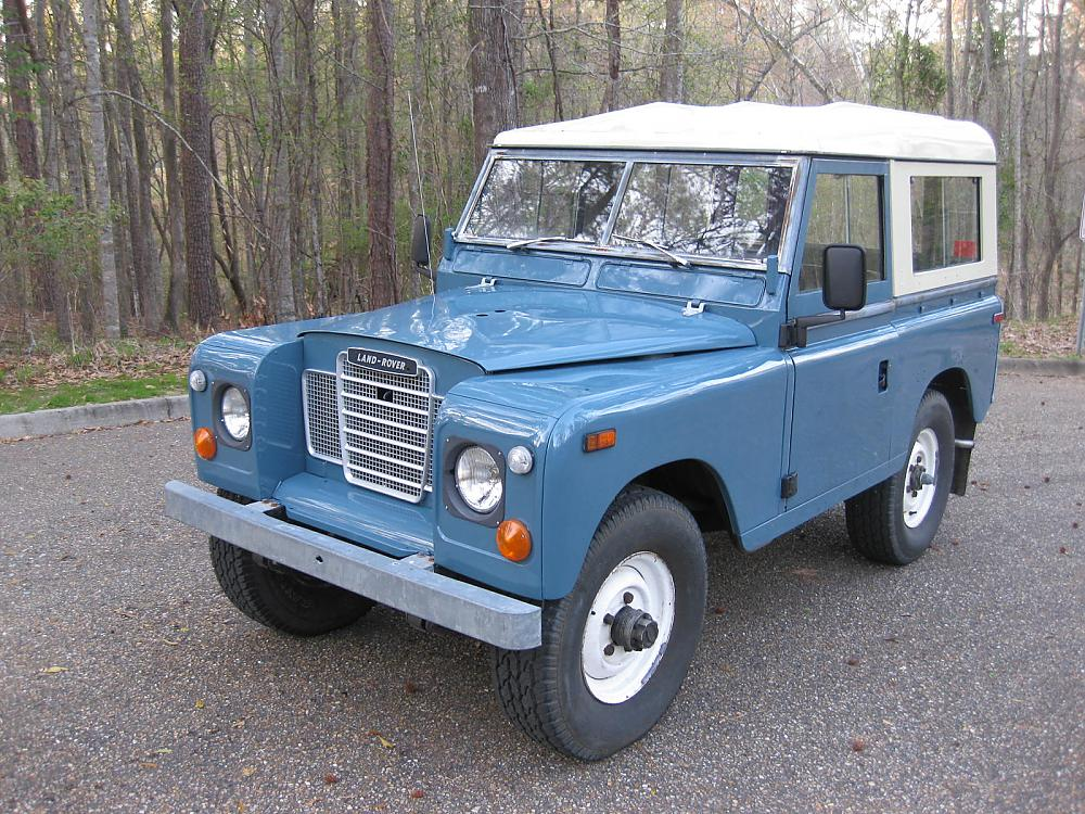 1974 land rover series iii information and photos. Black Bedroom Furniture Sets. Home Design Ideas