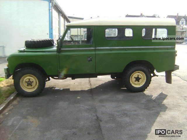 Land Rover Series III 1980 #12
