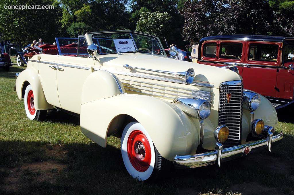 1938 LaSalle 50  Information and photos  MOMENTcar