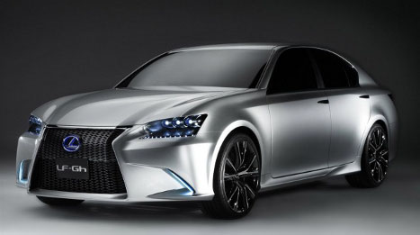 Have you ever seen this upgraded Lexus 2013 GS model? #8