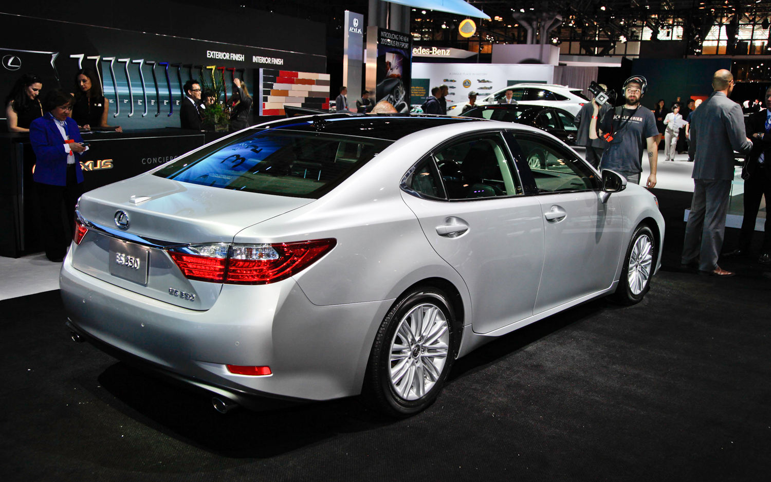 2014 lexus es 350 information and photos momentcar. Black Bedroom Furniture Sets. Home Design Ideas