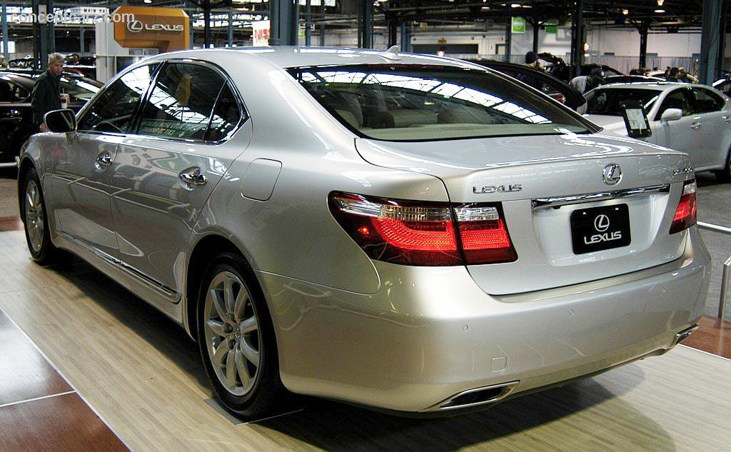 2007 lexus ls 460 information and photos momentcar. Black Bedroom Furniture Sets. Home Design Ideas