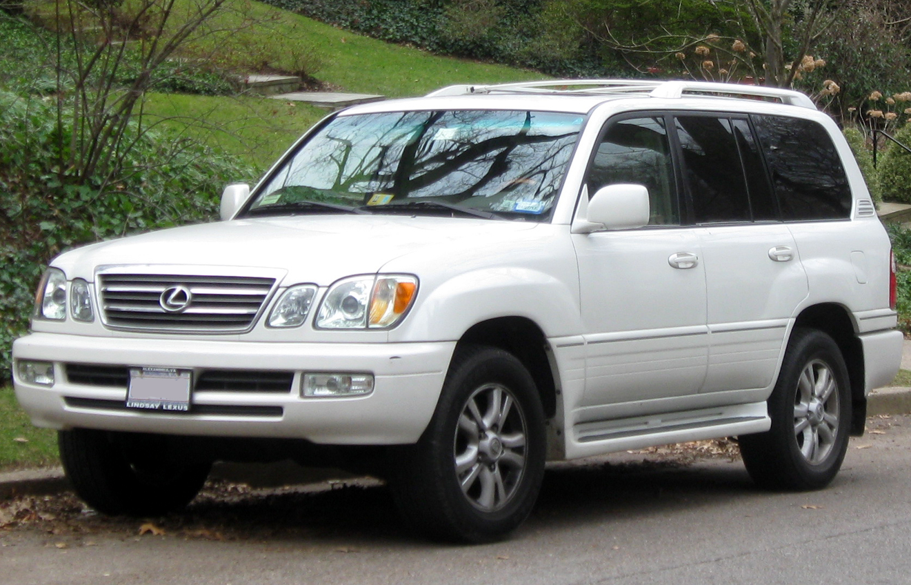 2004 lexus lx 470 information and photos momentcar. Black Bedroom Furniture Sets. Home Design Ideas
