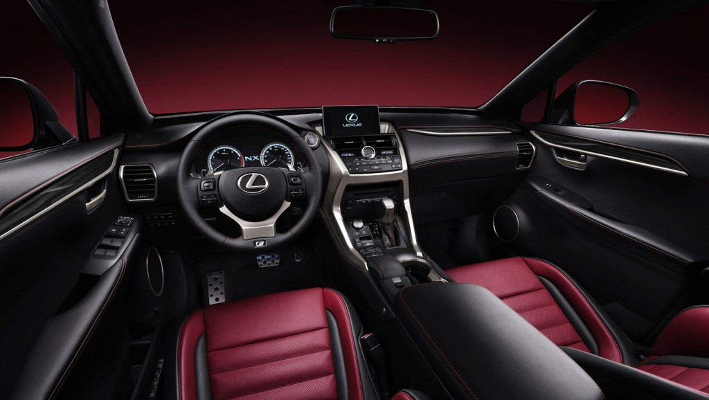 lexus nx manuals