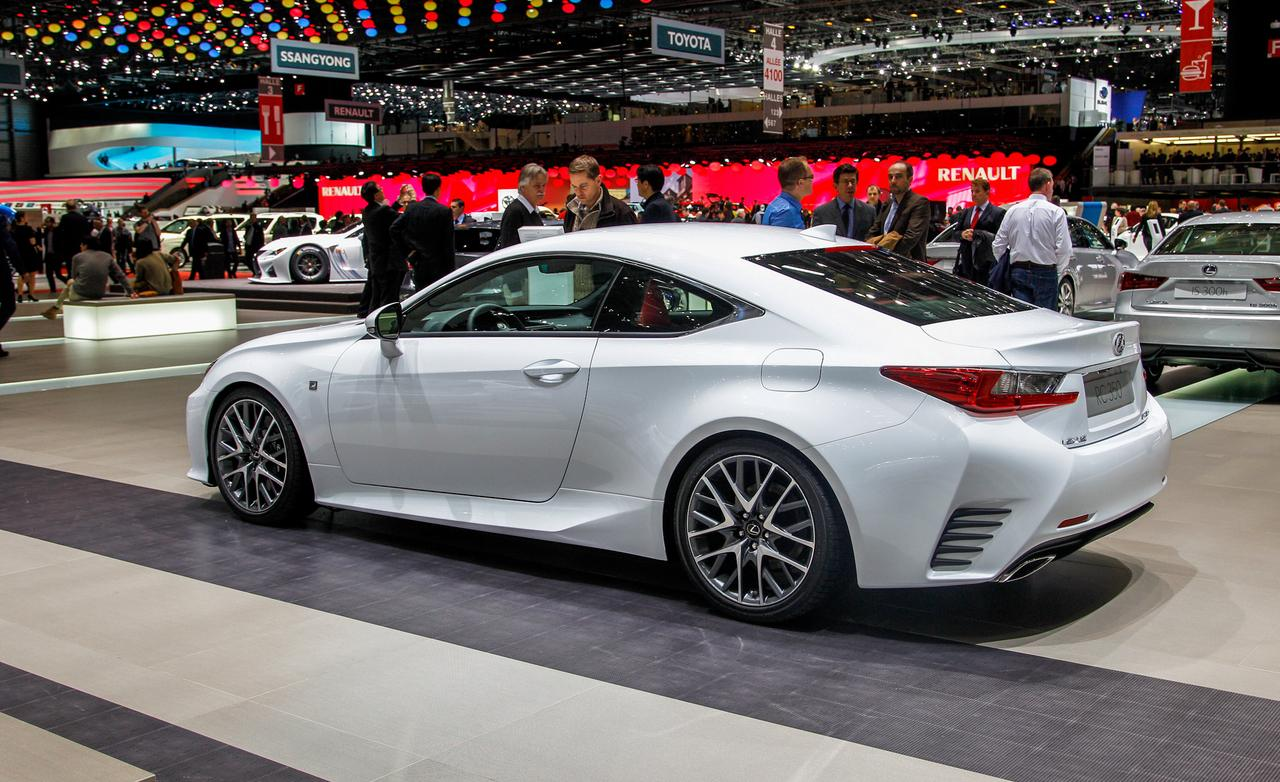 2015 lexus rc 350 information and photos momentcar. Black Bedroom Furniture Sets. Home Design Ideas