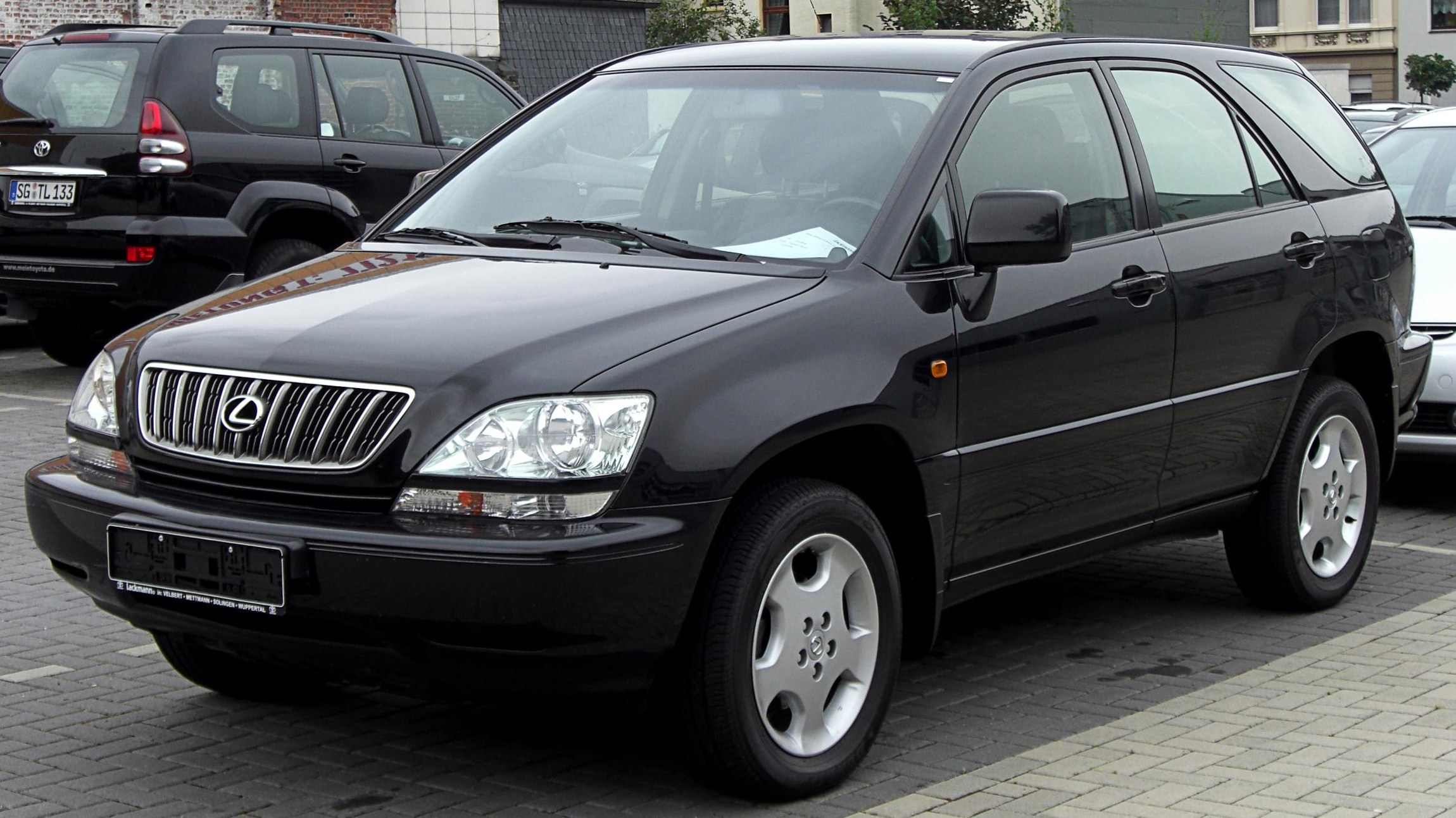 Lexus Rx 300 Information And Photos Momentcar