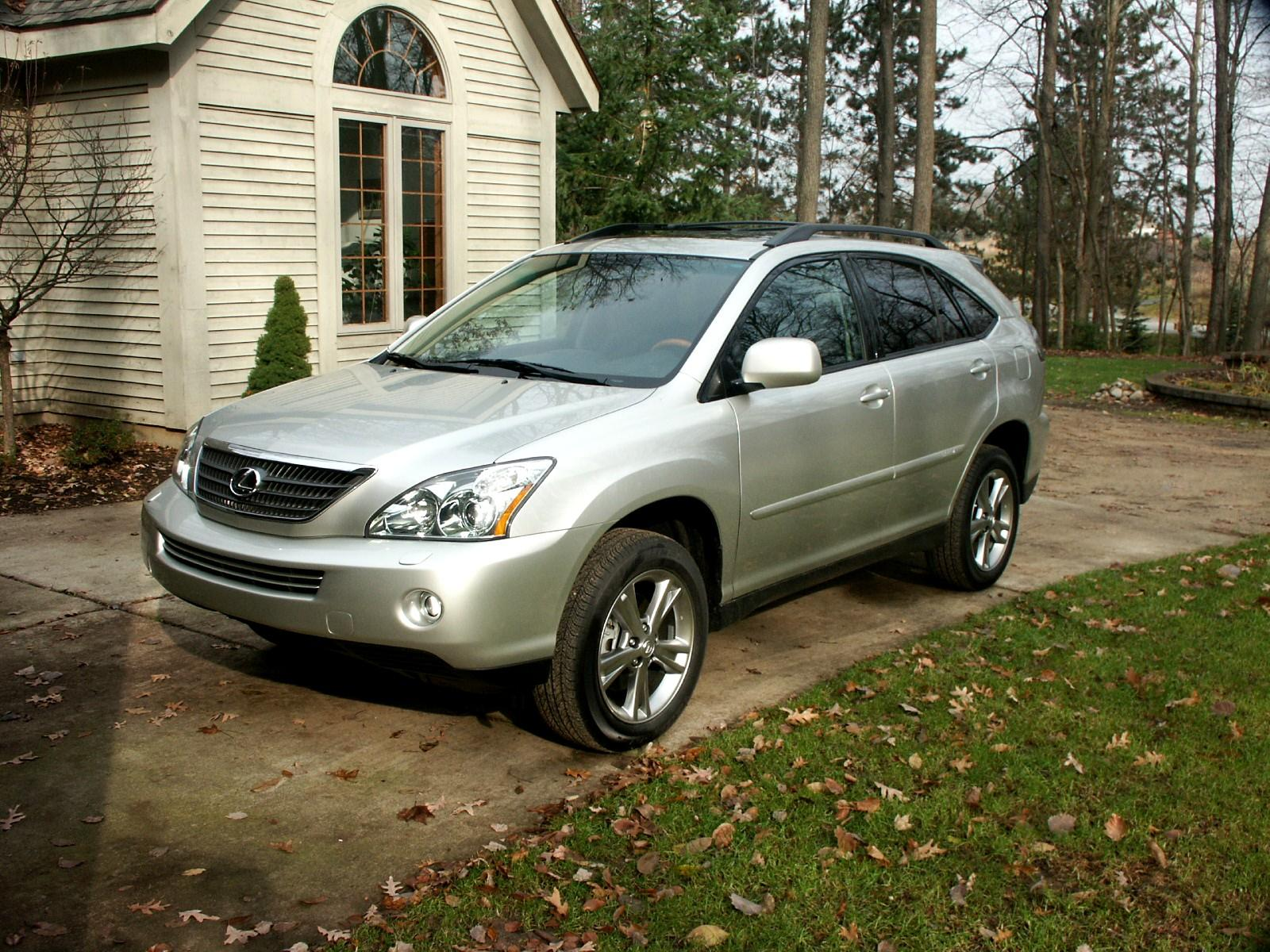 2007 lexus rx 400h information and photos momentcar. Black Bedroom Furniture Sets. Home Design Ideas