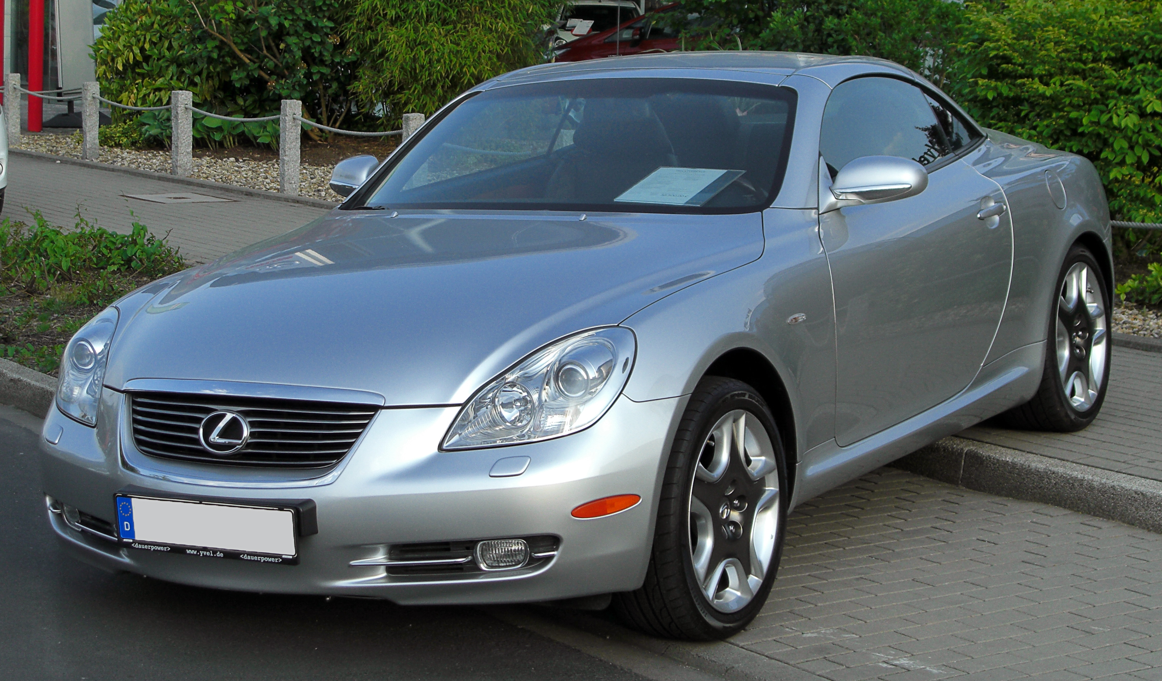 2003 Lexus Sc 430 Information And Photos Momentcar