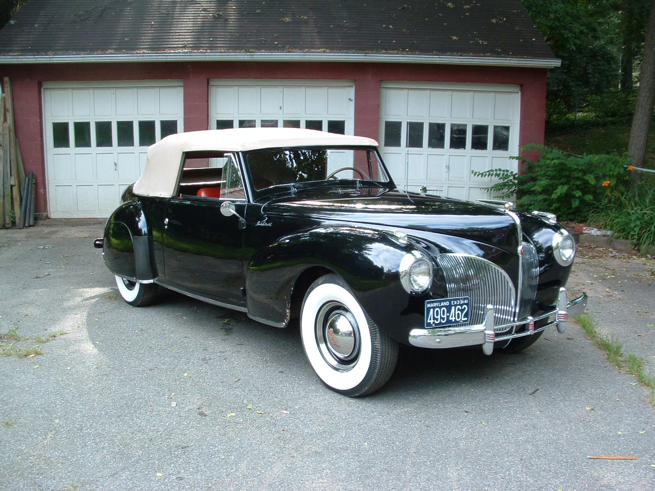 1941 Lincoln Continental Information And Photos Momentcar