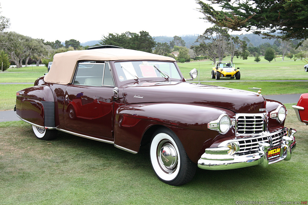1948 Lincoln Continental Information And Photos Momentcar