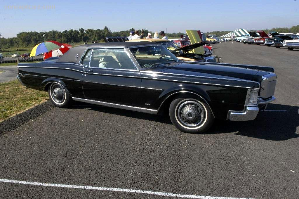 1969 Lincoln Continental Information And Photos Momentcar