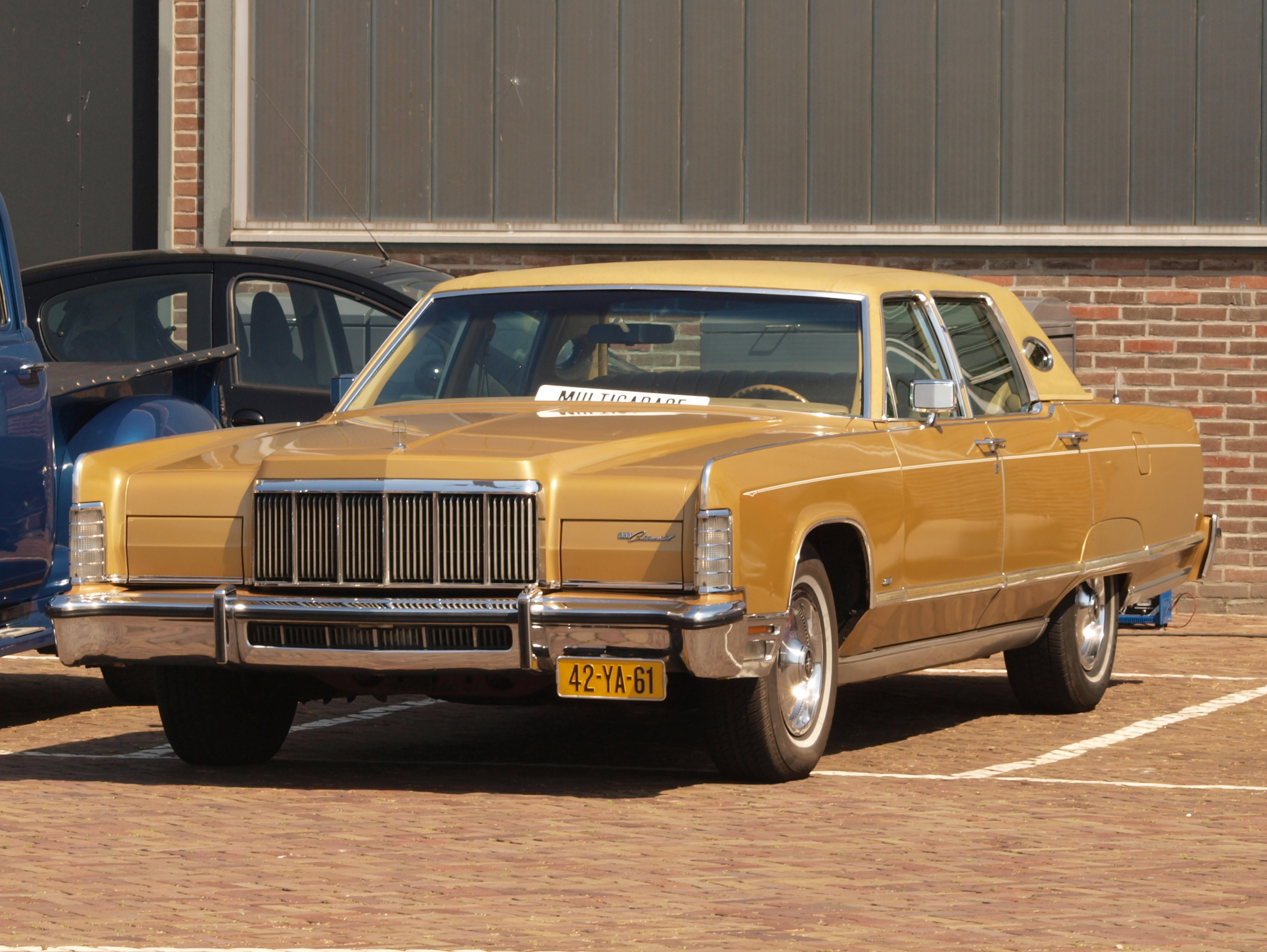 1972 Lincoln Continental Information And Photos Momentcar