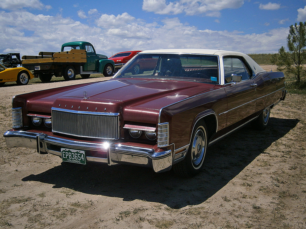 1974 lincoln continental information and photos momentcar