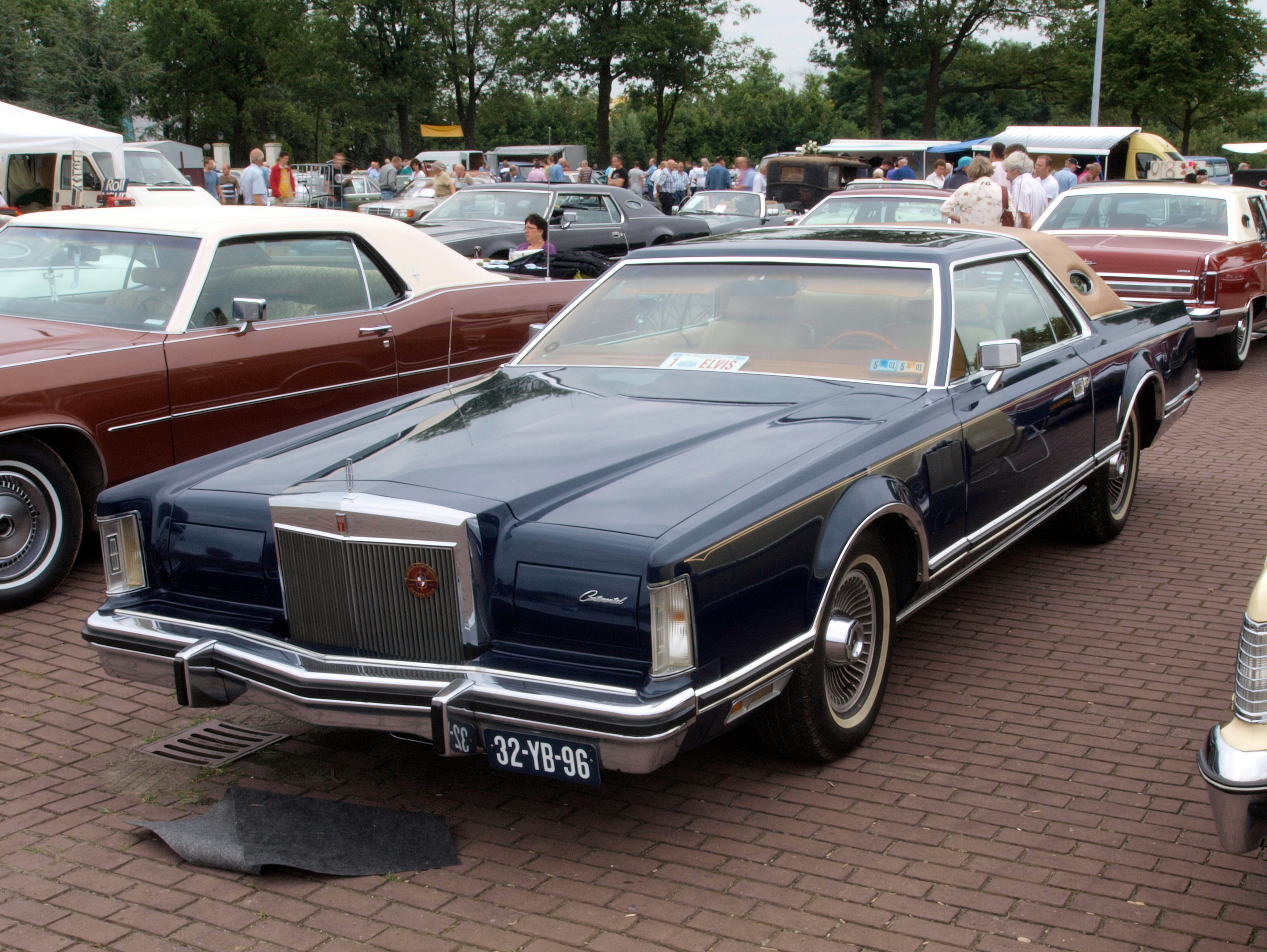 1976 lincoln continental information and photos momentcar. Black Bedroom Furniture Sets. Home Design Ideas