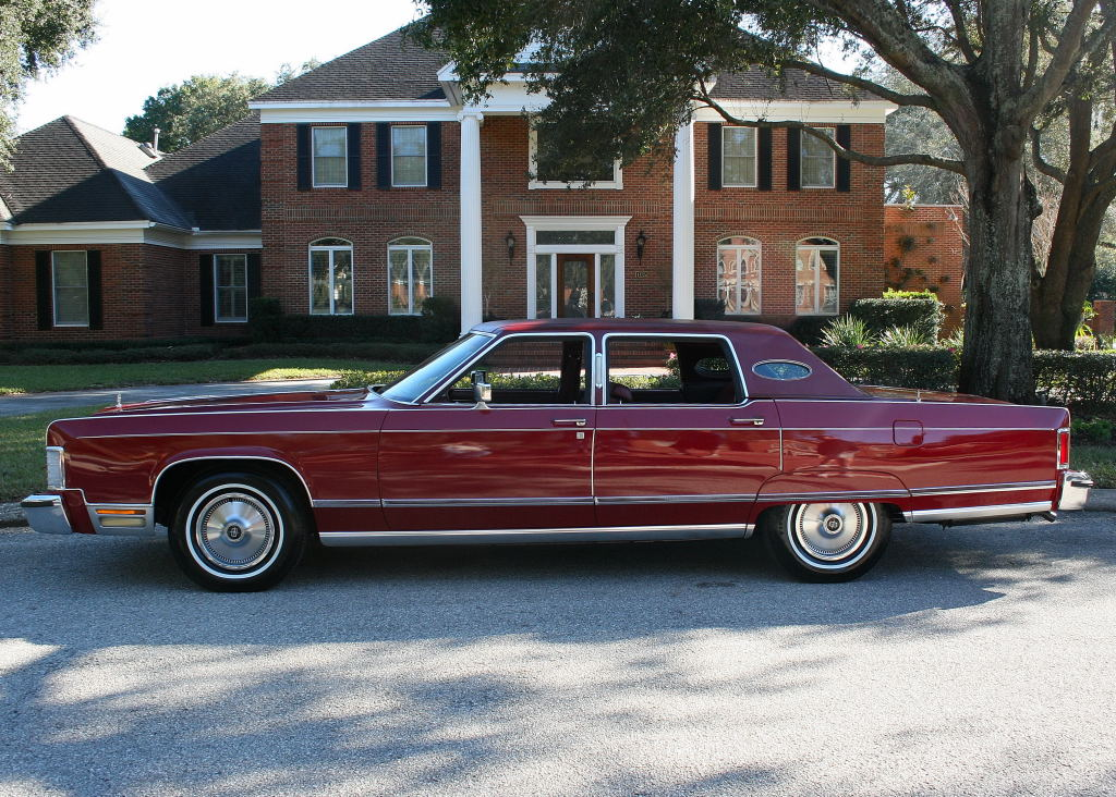 1976 Lincoln Continental Information And Photos Momentcar