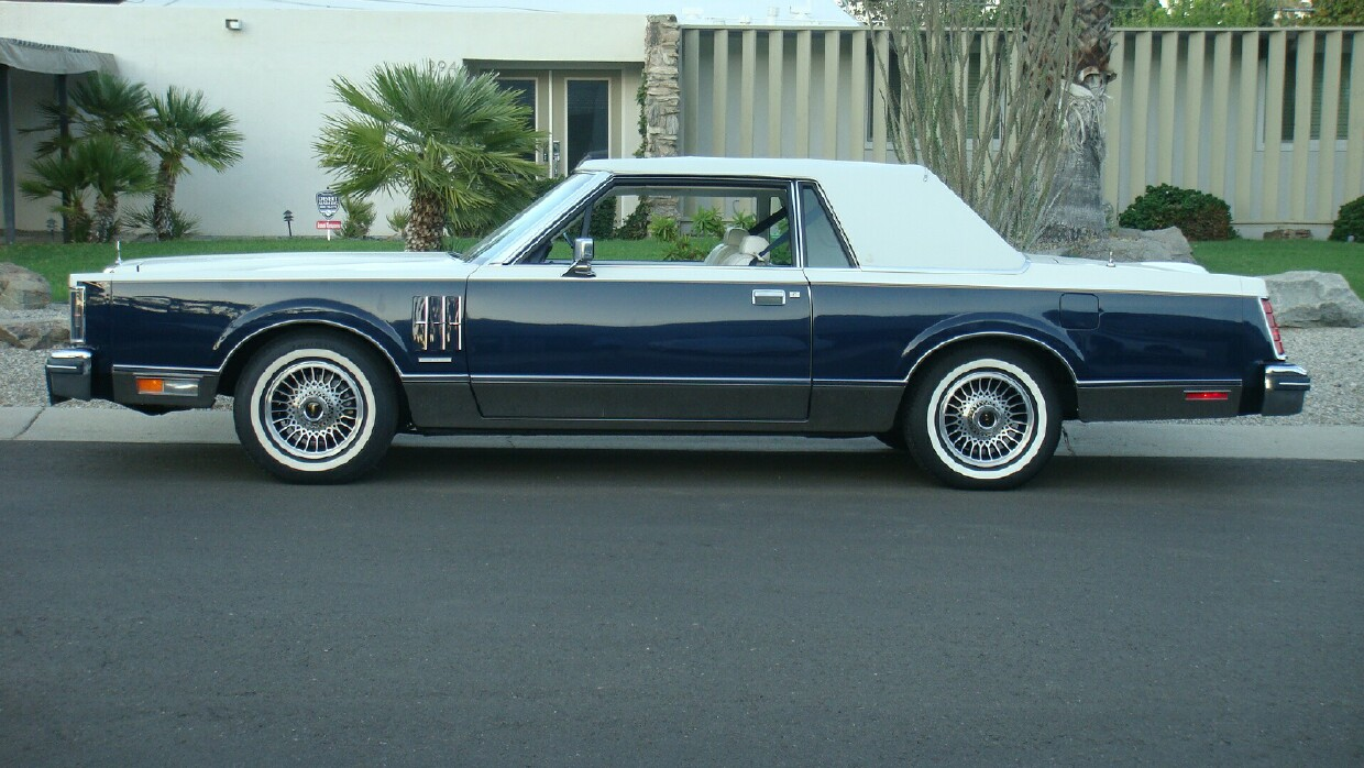 1980 lincoln continental - information and photos