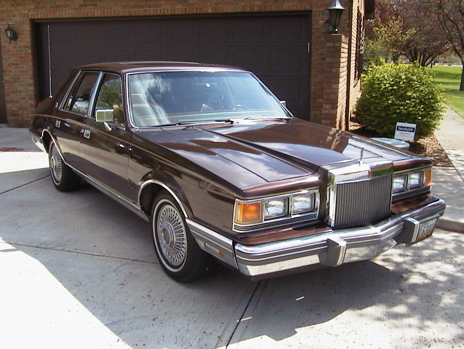 1983 Lincoln Continental - Information And Photos