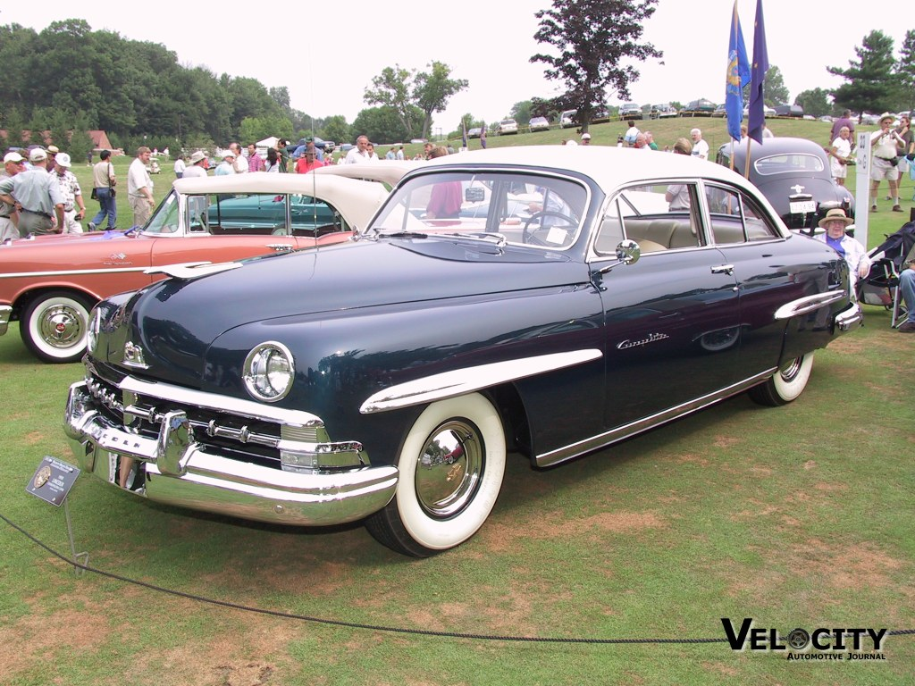 1950 Lincoln Cosmopolitan Information And Photos Momentcar