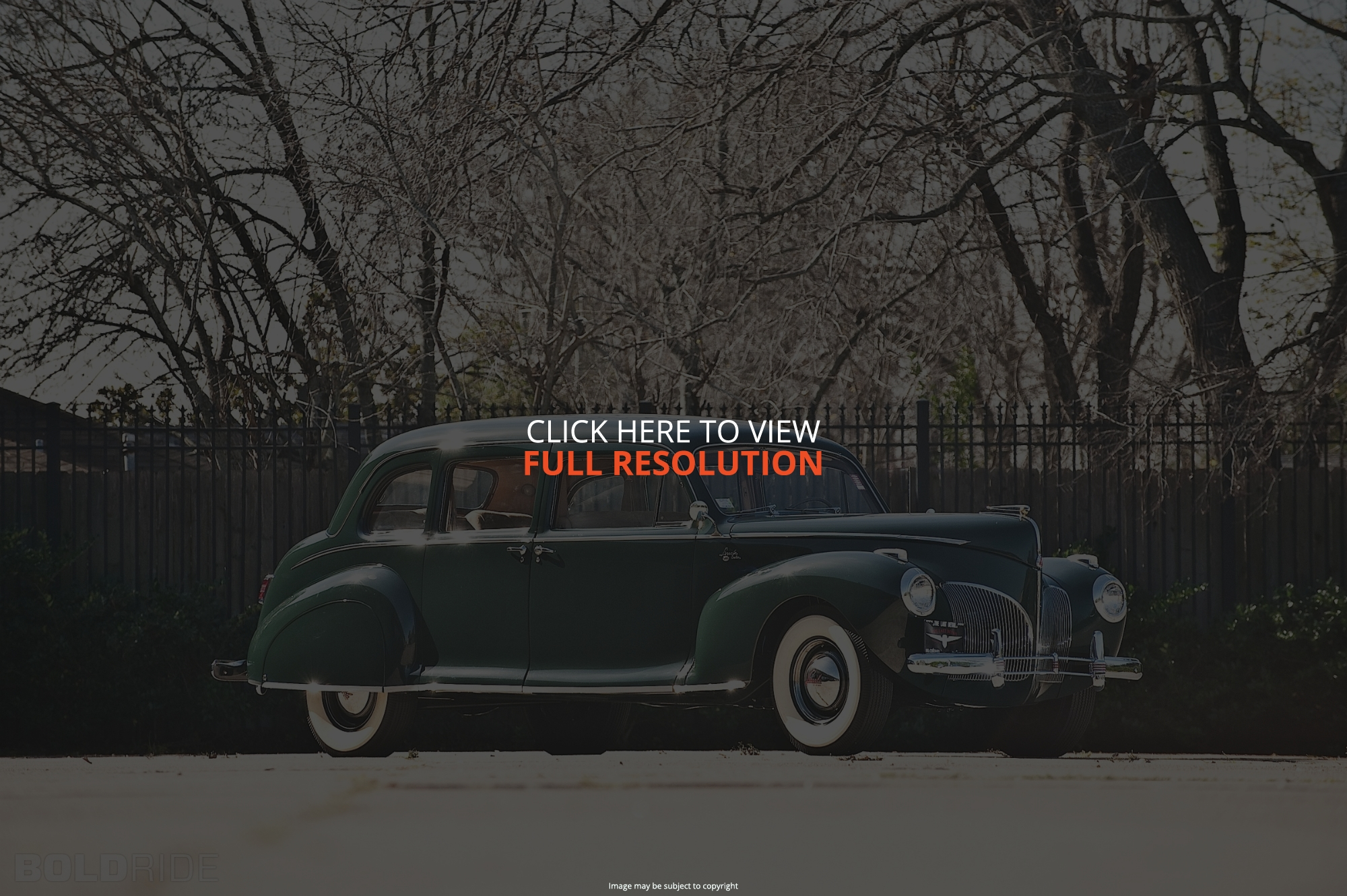 1941 Lincoln Custom Information And Photos Momentcar Town Car 5