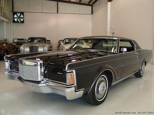 Lincoln Continental Old Cars