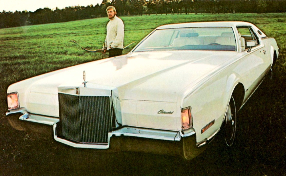 Lincoln Mark IV 1972 #8