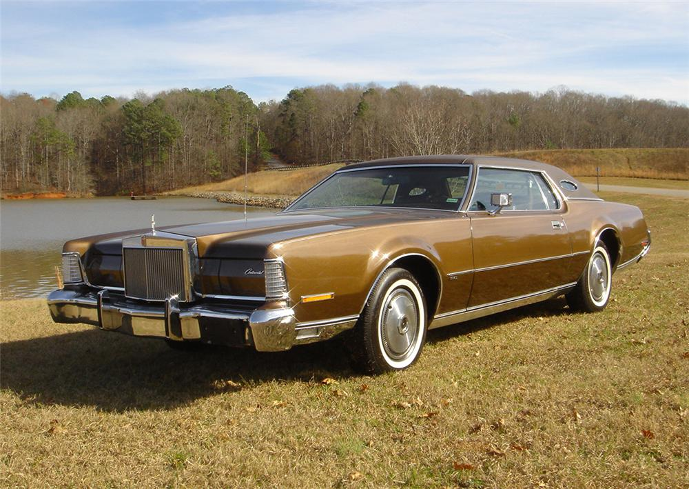 1973 Lincoln Mark Iv Information And Photos Momentcar