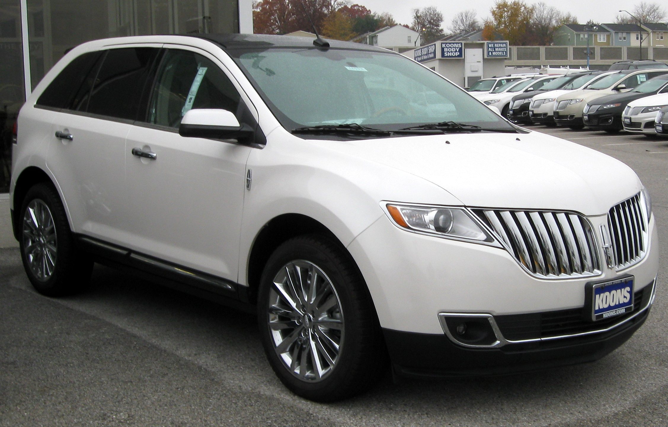 Lincoln MKX 2014 #12