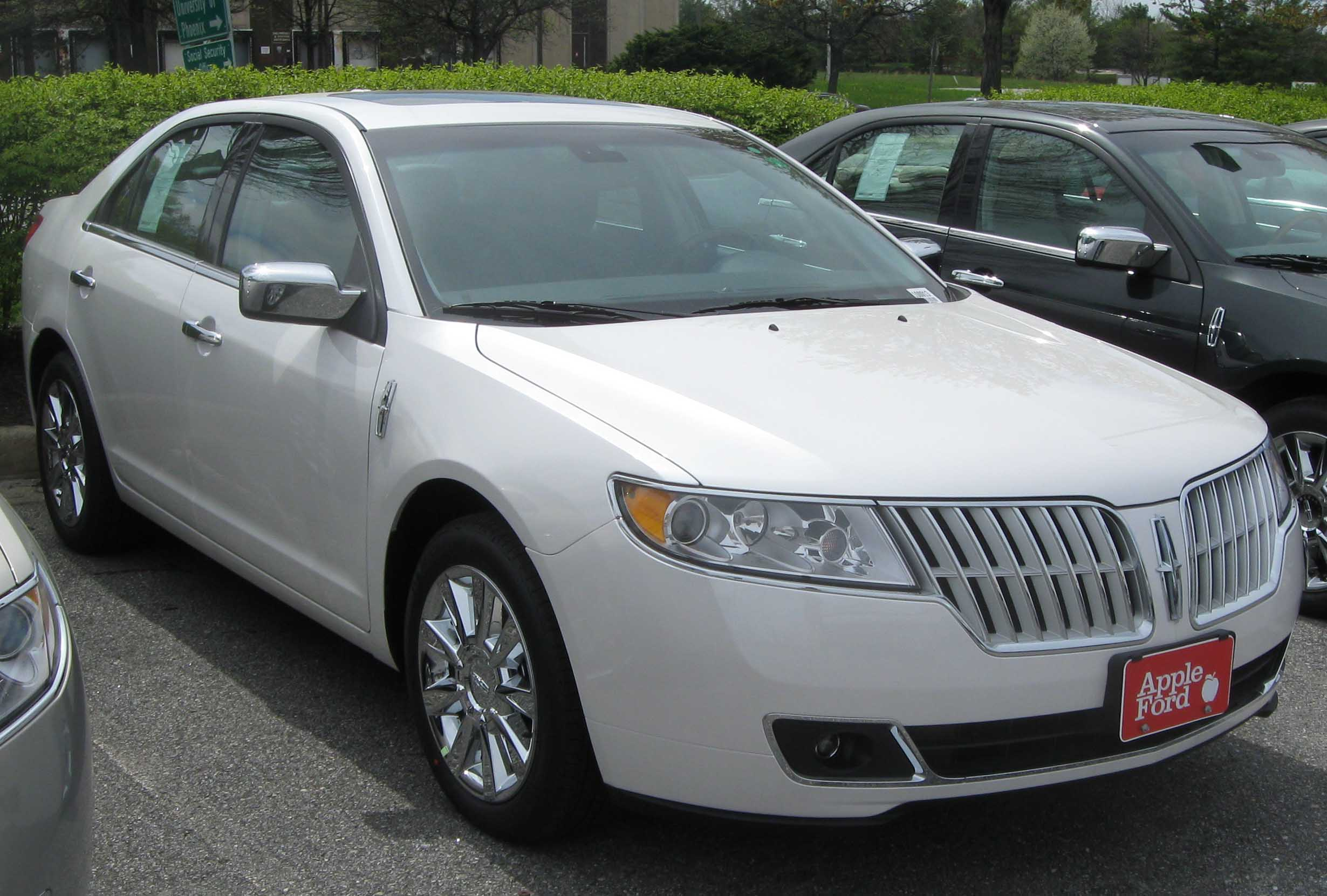 2010 lincoln mkz information and photos momentcar. Black Bedroom Furniture Sets. Home Design Ideas