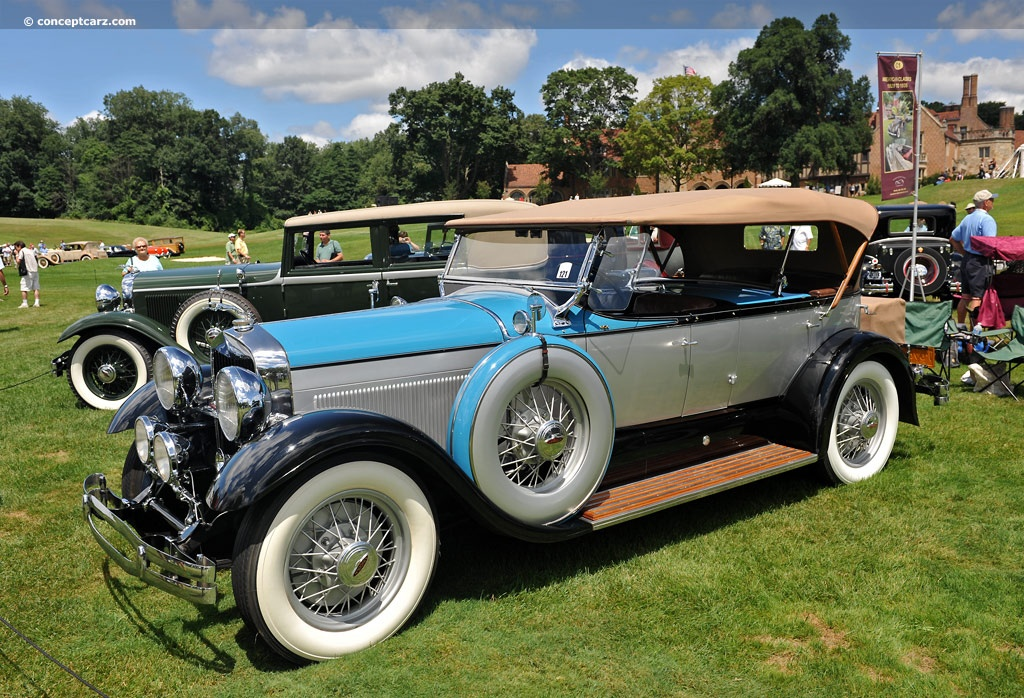 1930 Lincoln Model L Information And Photos Momentcar
