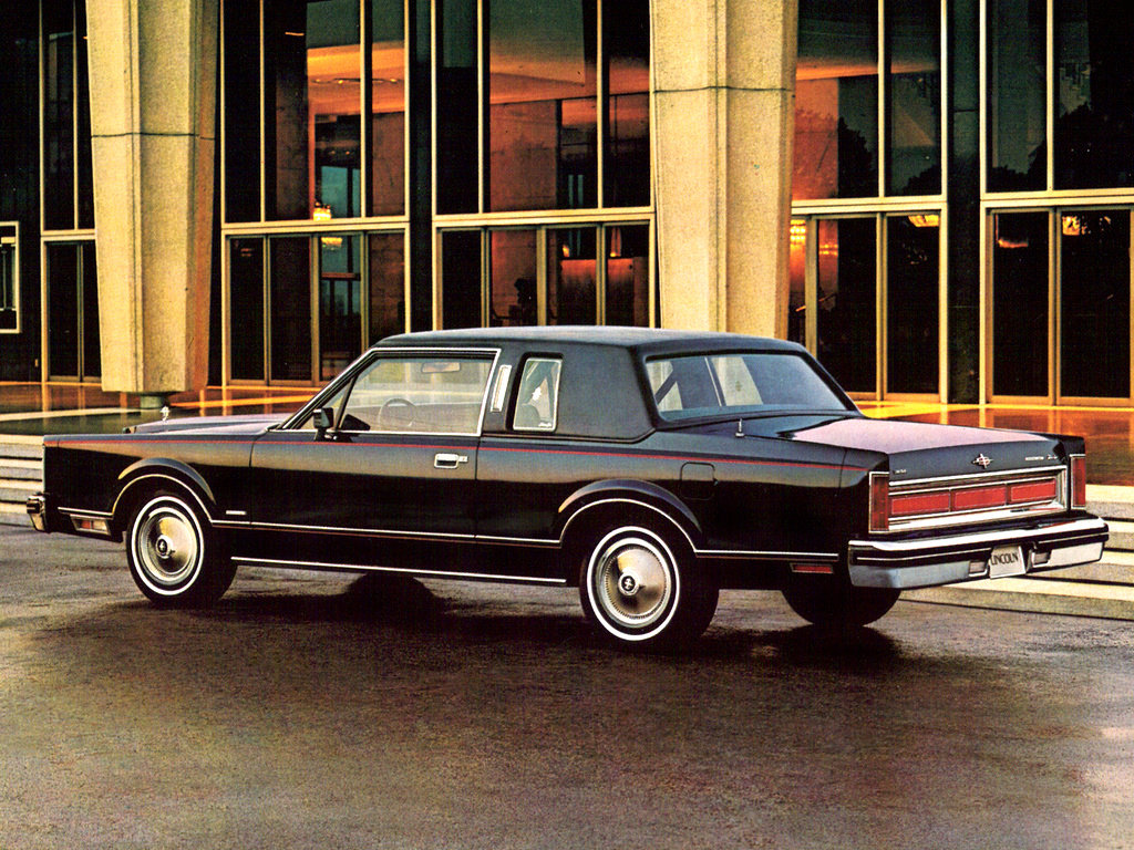 1981 lincoln town car information and photos momentcar. Black Bedroom Furniture Sets. Home Design Ideas