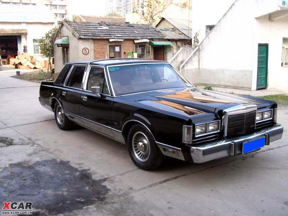 1984 Lincoln Town Car - Information and photos - MOTcar