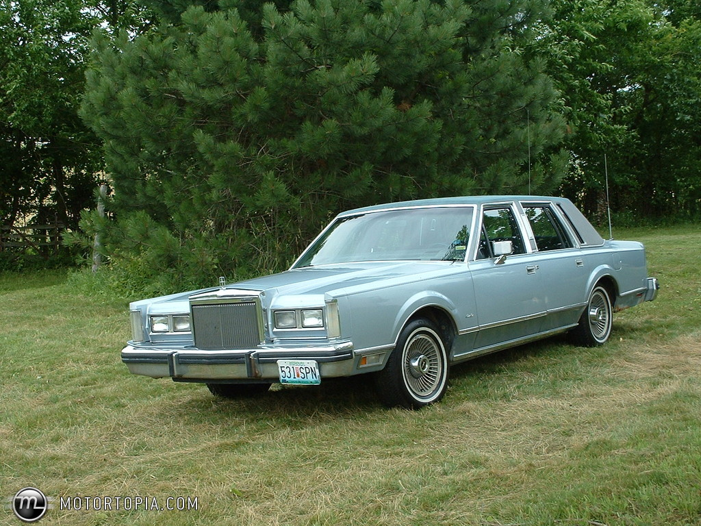 1984 Lincoln Town Car Information And Photos Momentcar